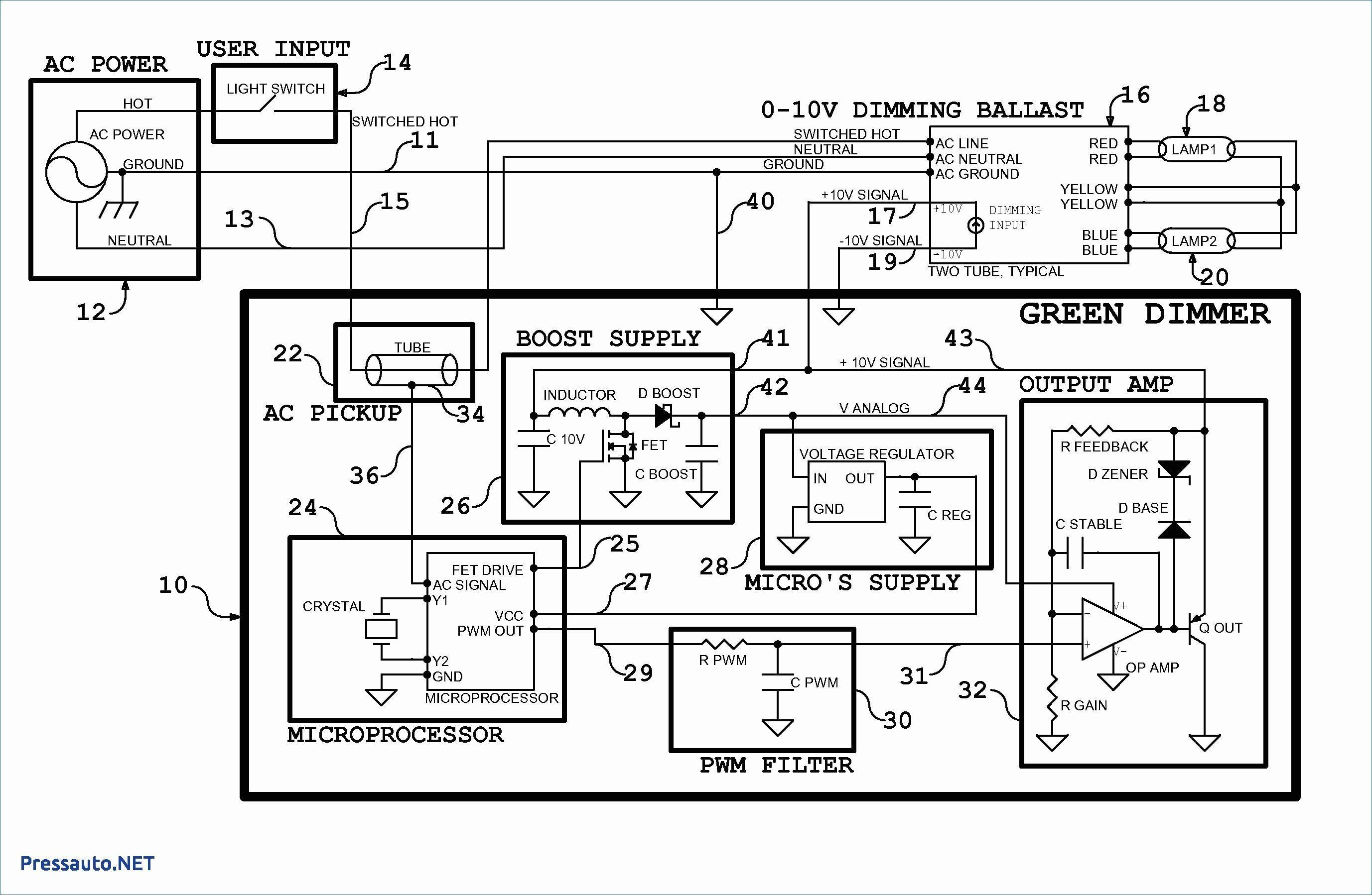 0 10 Dimming Ballast Wiring Diagram | Wiring Diagram - 0-10 Volt Dimming Wiring Diagram