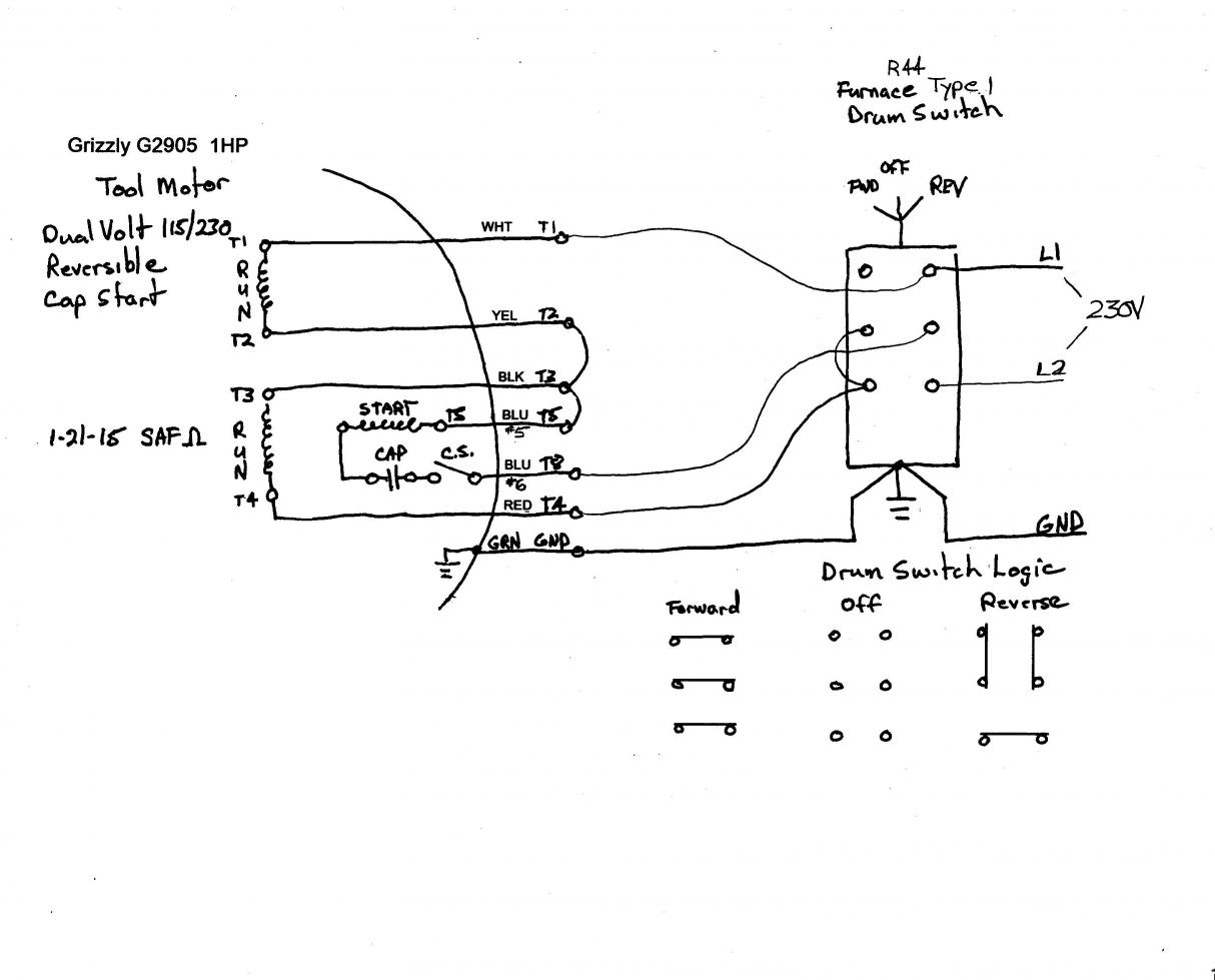 115 Volt Single Phase Motor Wiring Diagrams - Wiring Diagrams Hubs - 240 Volt Single Phase Wiring Diagram