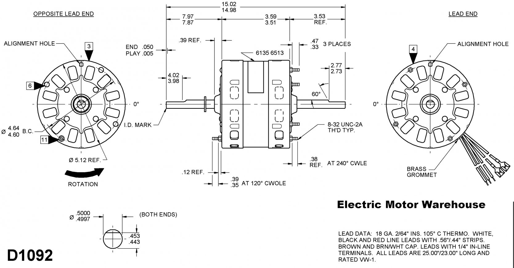 Century Ac Motor Wiring Diagram 115 230 Volts | Wiring Diagram