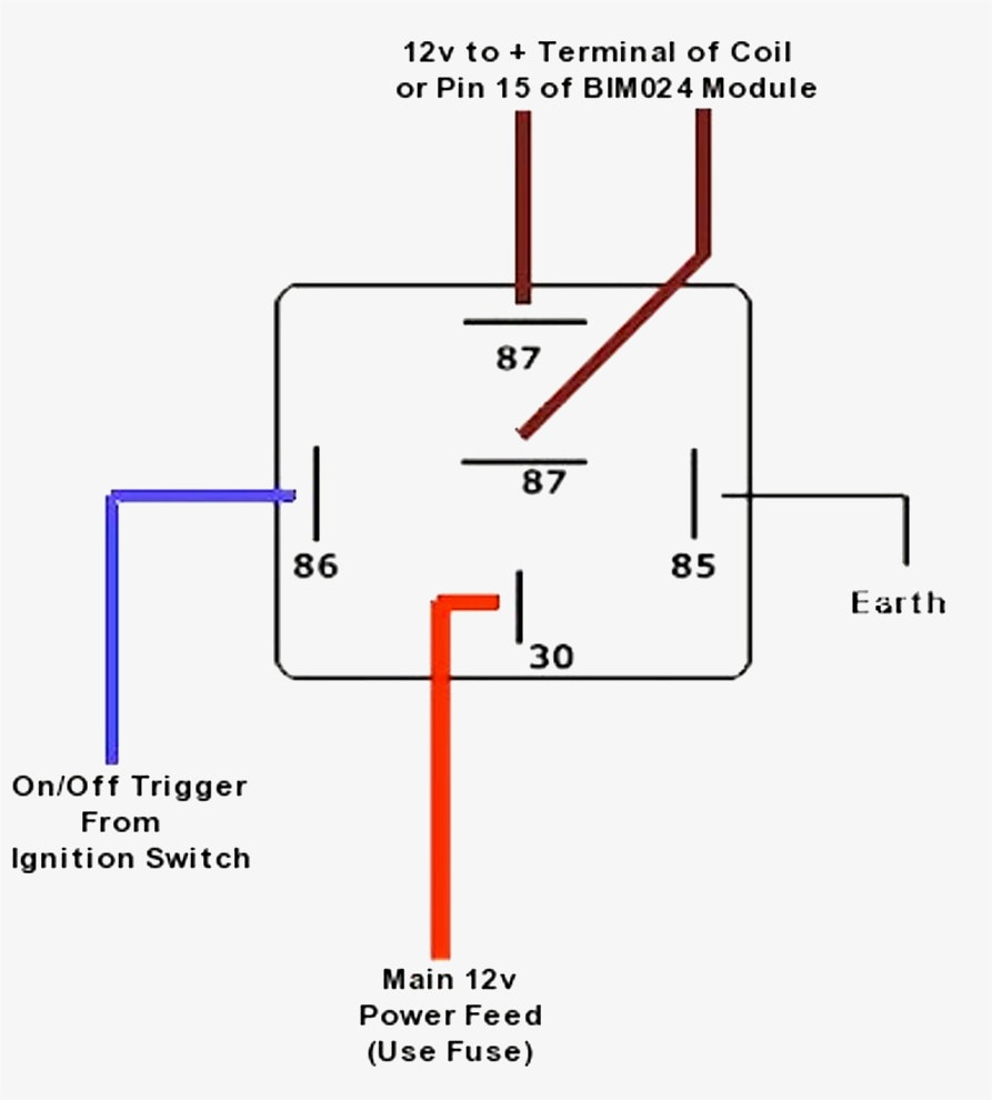 12 Relay Wiring Diagram | Wiring Diagram - 4 Pin Relay Wiring Diagram