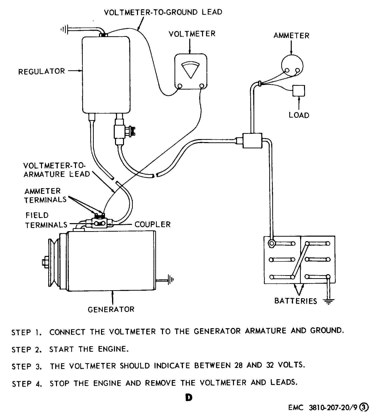 12 Volt Generator Voltage Regulator Wiring Diagram | Tractor Gen - 12 Volt Generator Voltage Regulator Wiring Diagram