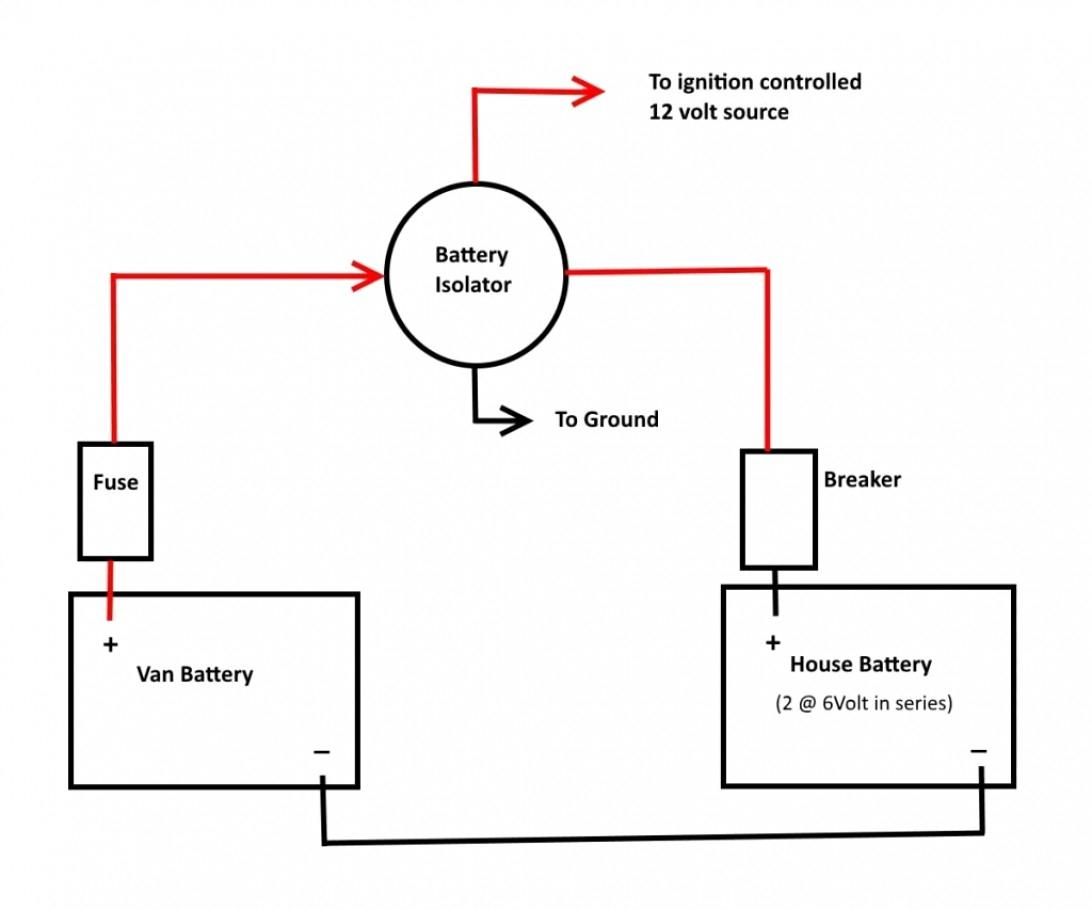 Rv Battery Isolator Wiring Diagram