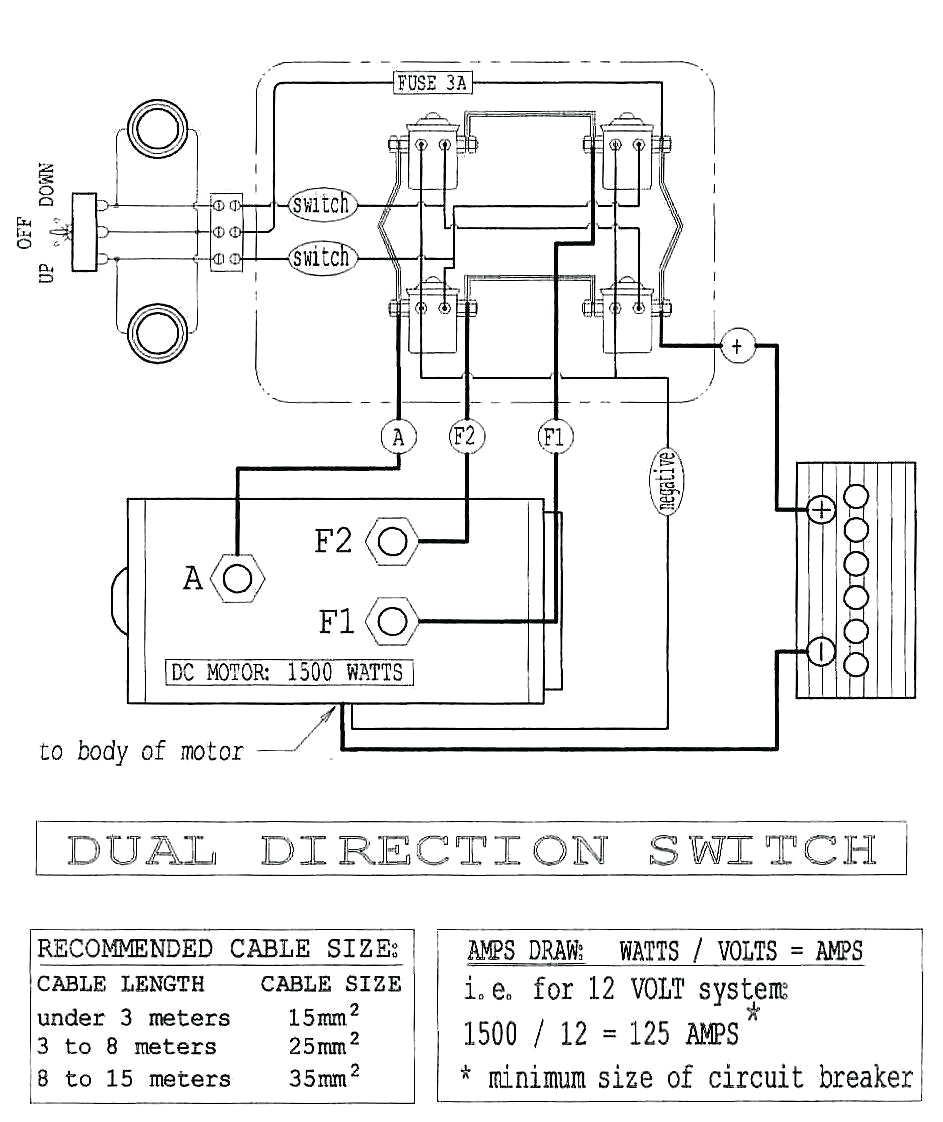 12 Volt Powerwinch Wiring Diagram | Manual E-Books - Solenoid Wiring Diagram