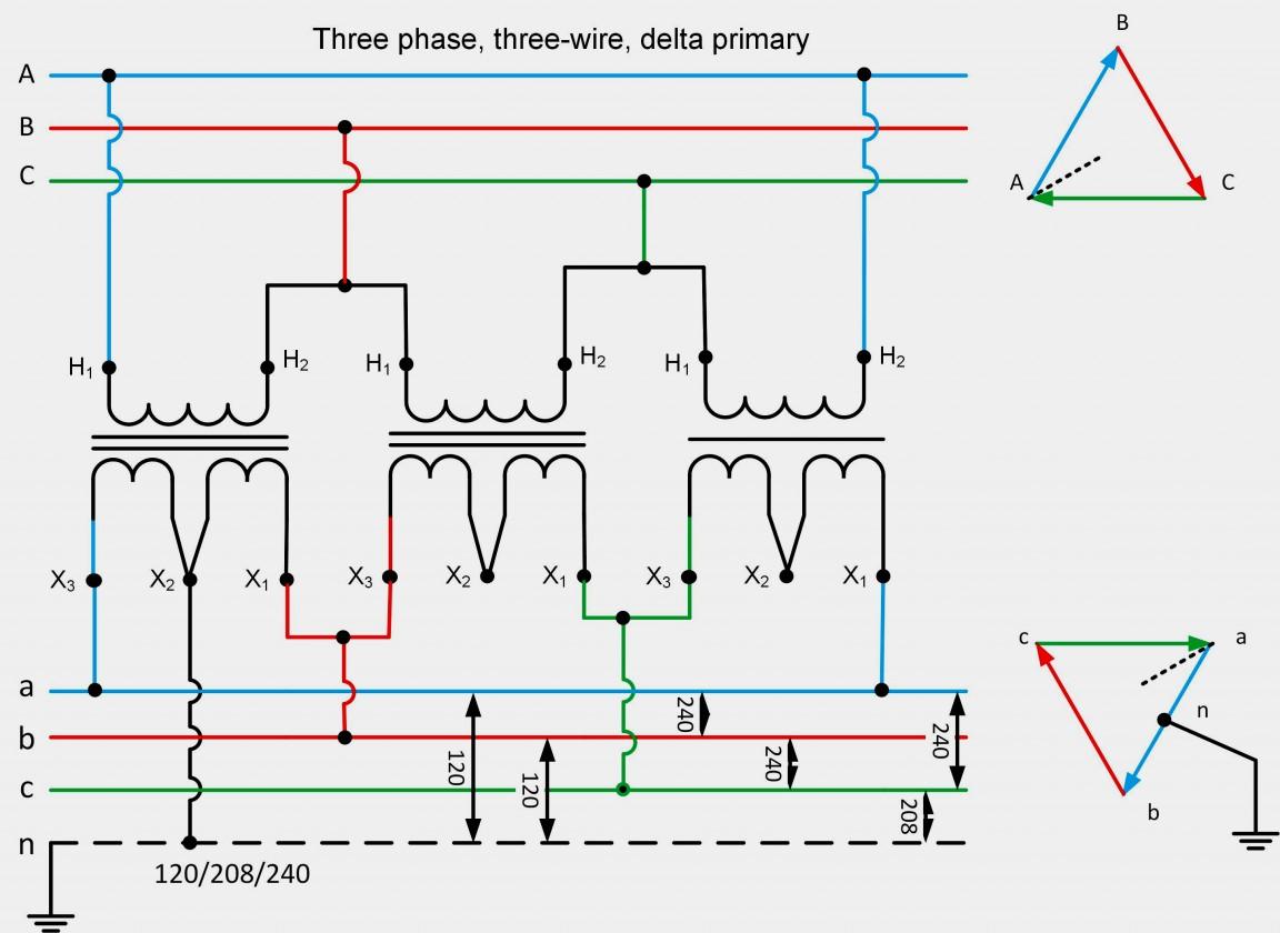 120 208 Volt Wiring Diagram Single Phase | Wiring Diagram - 208 Volt Single Phase Wiring Diagram