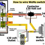 120 Volt 2 Pole Breaker Wiring Diagram | Wiring Diagram   Double Pole Circuit Breaker Wiring Diagram