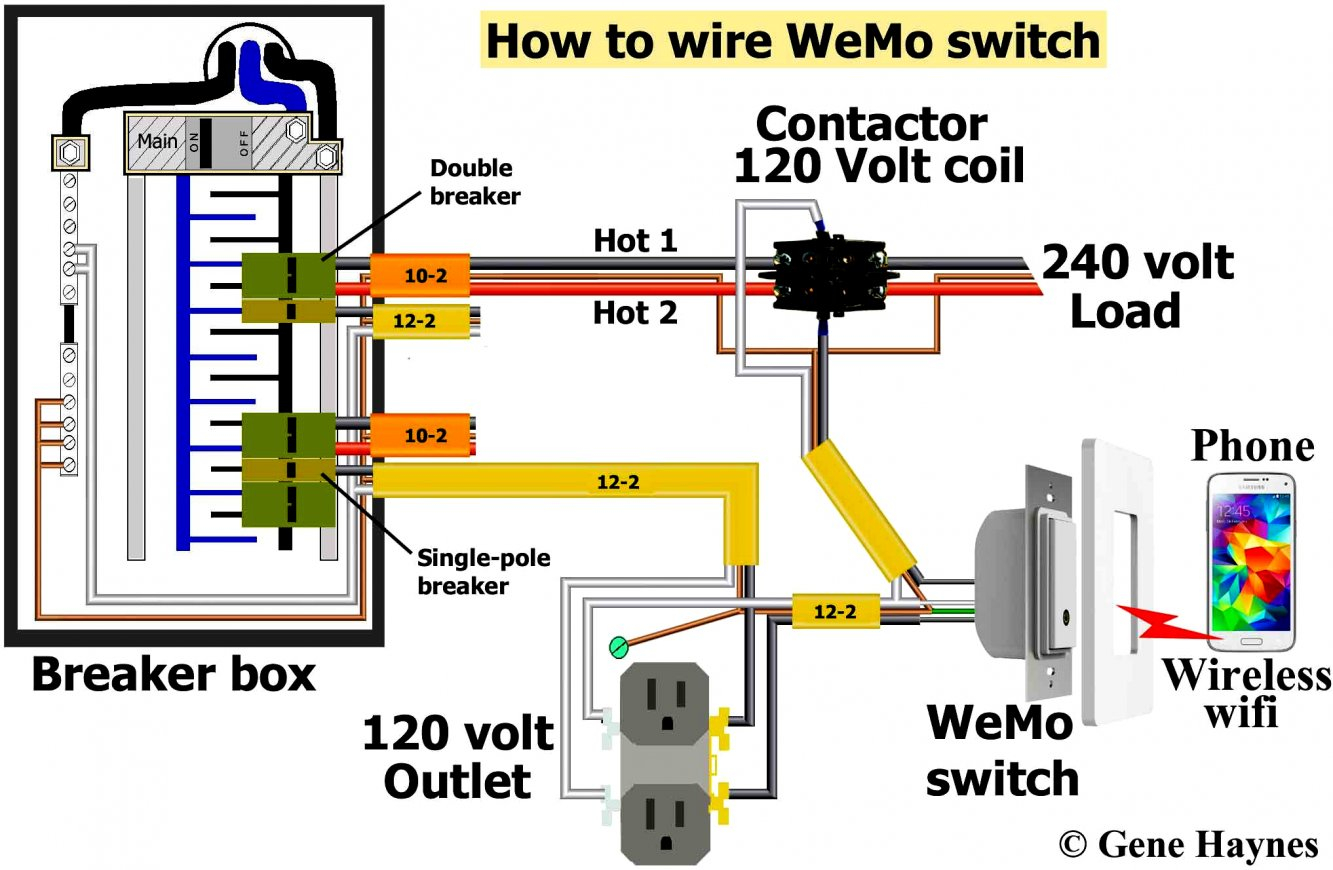 120 Volt 2 Pole Breaker Wiring Diagram | Wiring Diagram - Double Pole Circuit Breaker Wiring Diagram