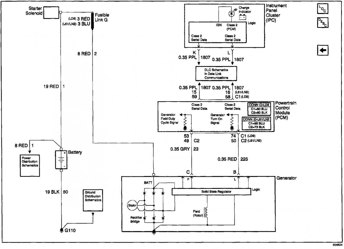 12Si Alternator Wiring Diagram | Manual E-Books - One Wire Alternator Wiring Diagram Chevy