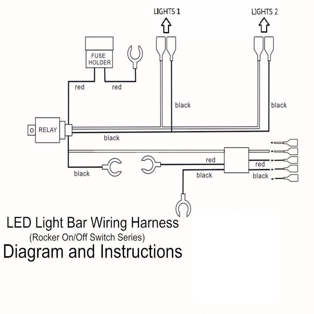 12V Relay Wiring Diagram Pin Pins Led Light Bar Driving Switch - 5 Pin Relay Wiring Diagram Driving Lights