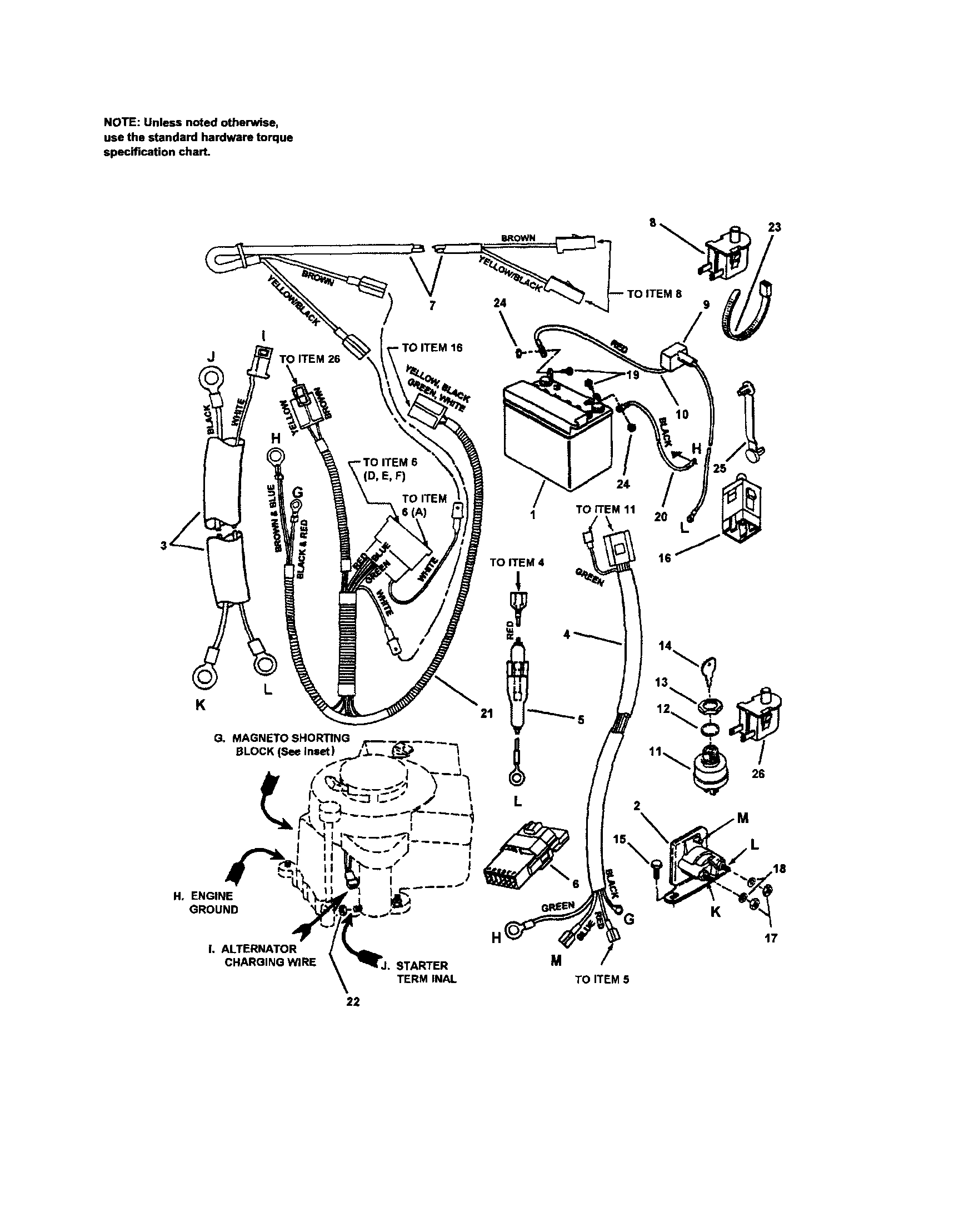 14 Hp Briggs And Stratton Wiring Diagram | Wiring Diagram - Briggs And Stratton Wiring Diagram 14Hp