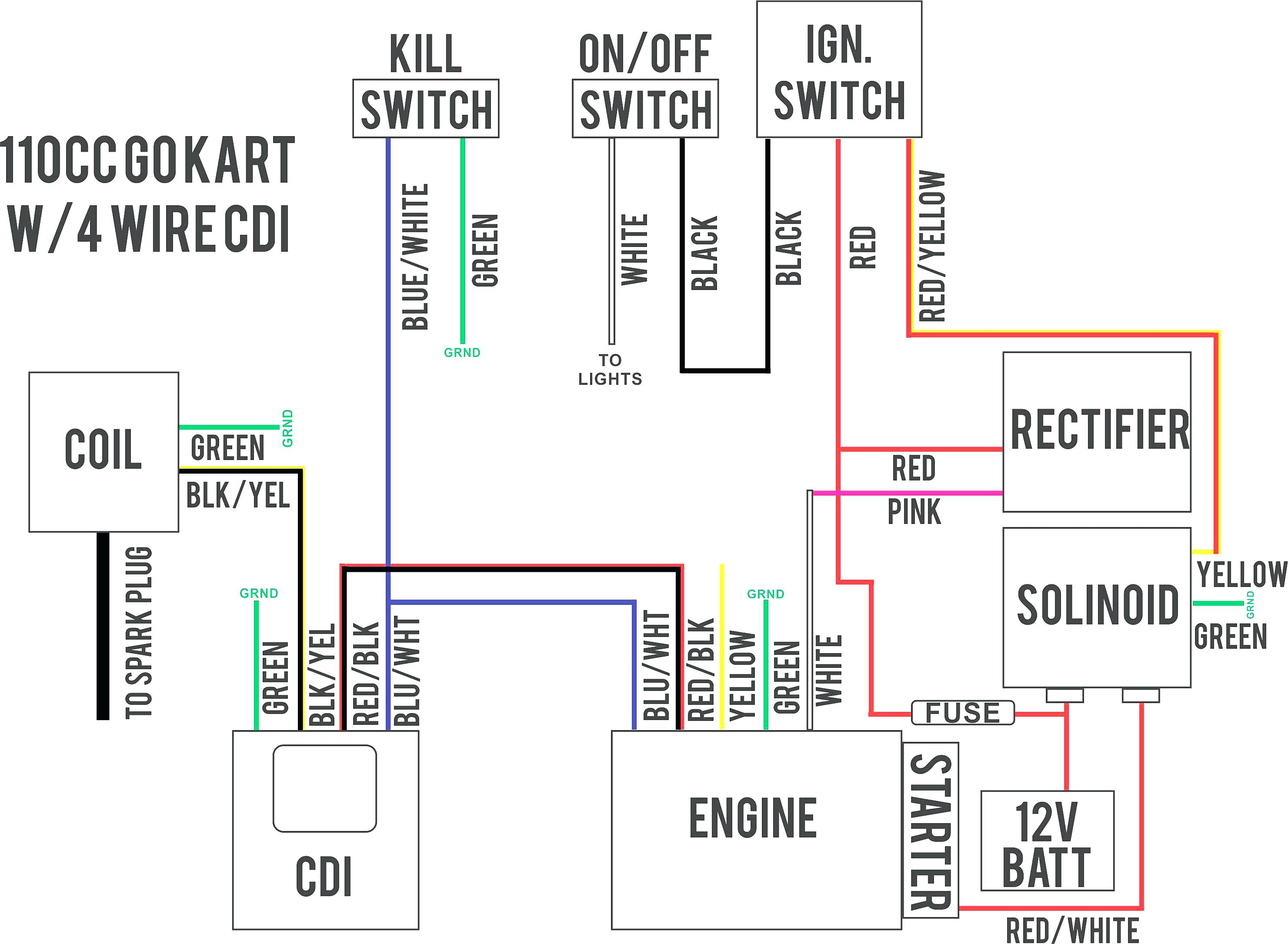 150Cc Scooter Wiring Diagram - Wiring Diagrams Hubs - Gy6 150Cc Wiring Diagram