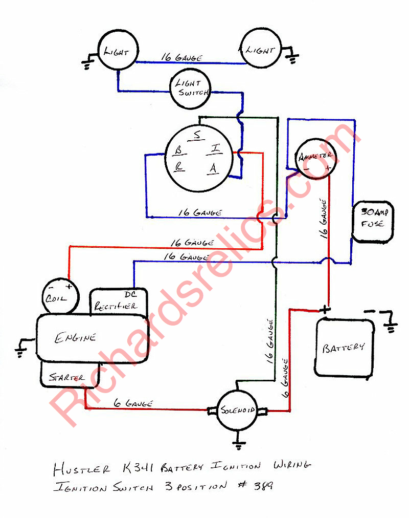 16Hp Kohler Engine Wiring Diagram | Best Wiring Library - Kohler Ignition Switch Wiring Diagram