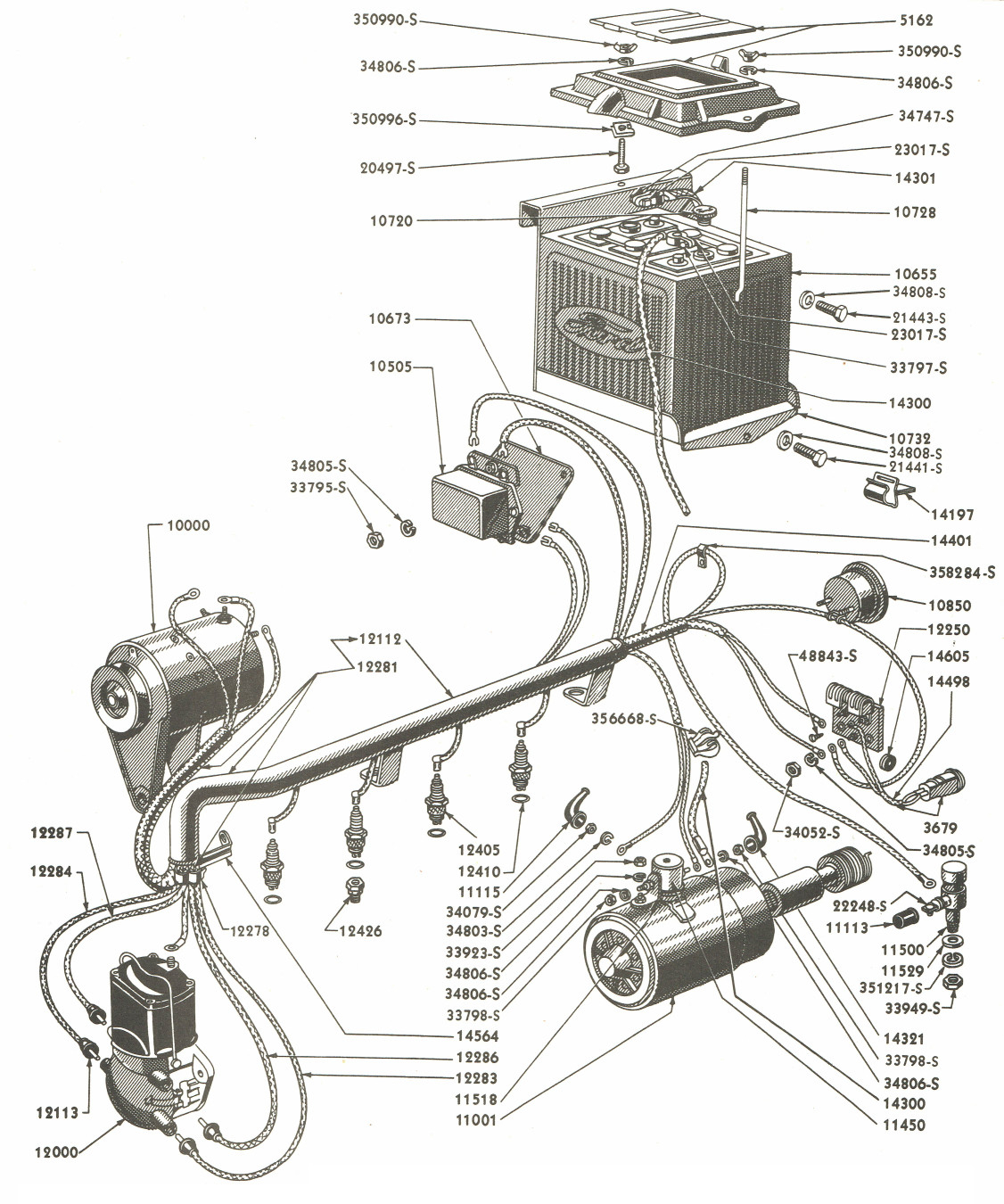 1941 Ford Wiring Diagram | Wiring Library - 9N Ford Tractor Wiring Diagram