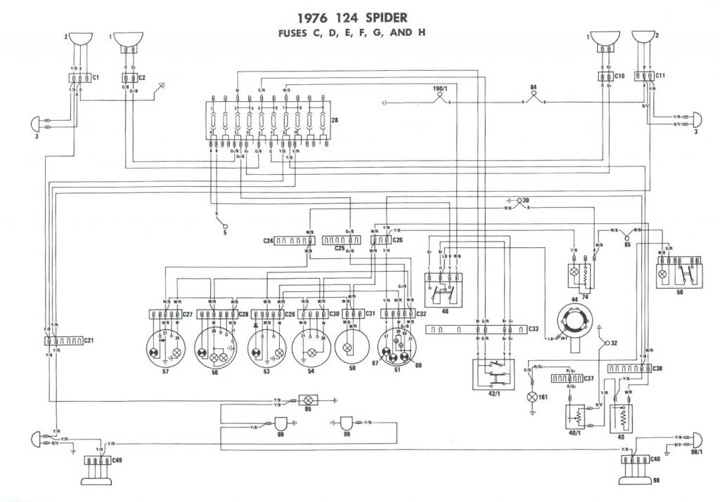 1942 Farmall H Wiring Diagram