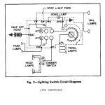 1947 Chevy Headlight Switch Wiring Diagram | Manual E Books   Chevy Headlight Switch Wiring Diagram