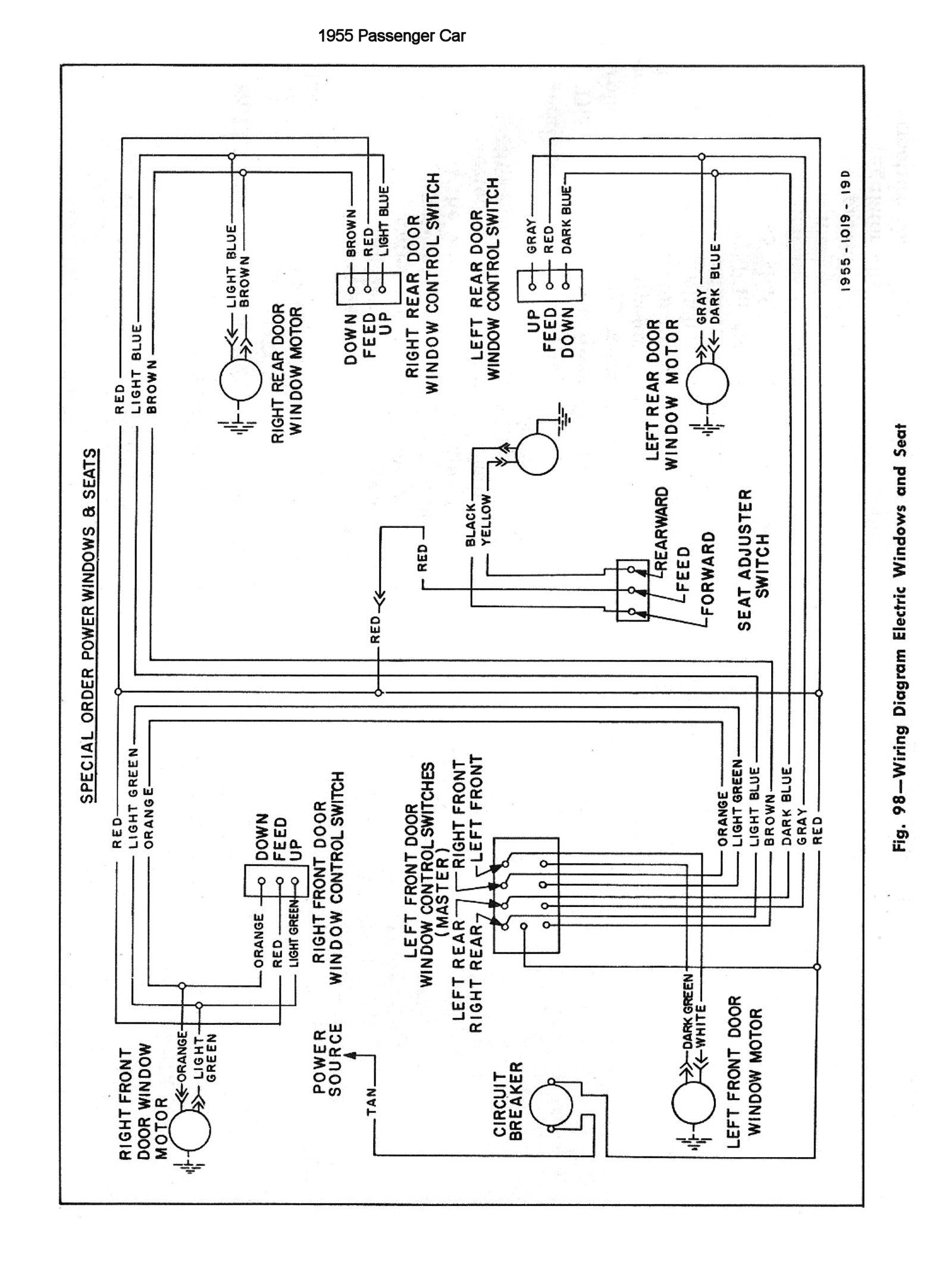 1956 Chevy Truck Wiring Diagram | Manual E-Books - 1994 Chevy Truck Wiring Diagram Free