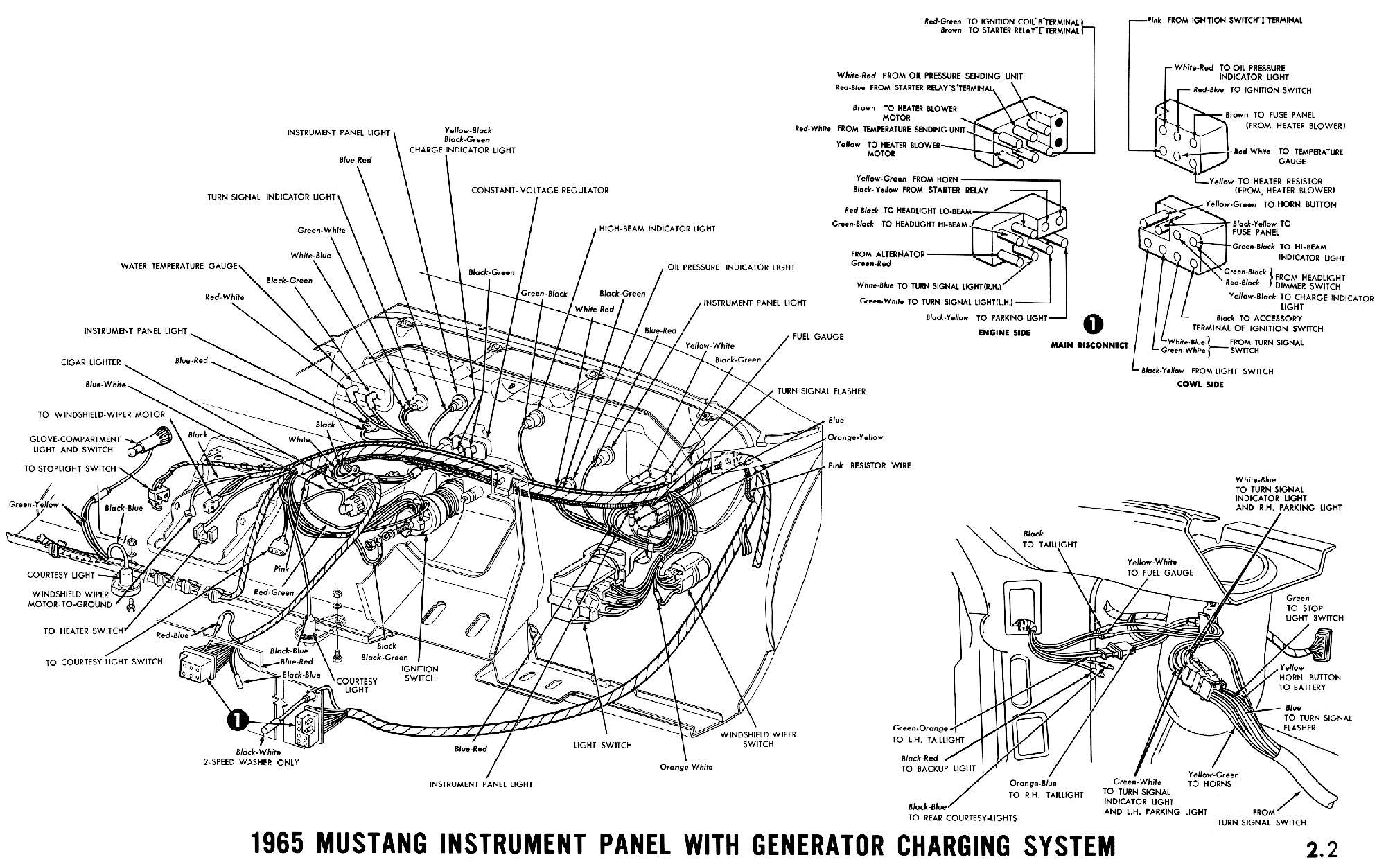 1965 Mustang Wiring Diagrams - Average Joe Restoration - 65 Mustang Wiring Diagram