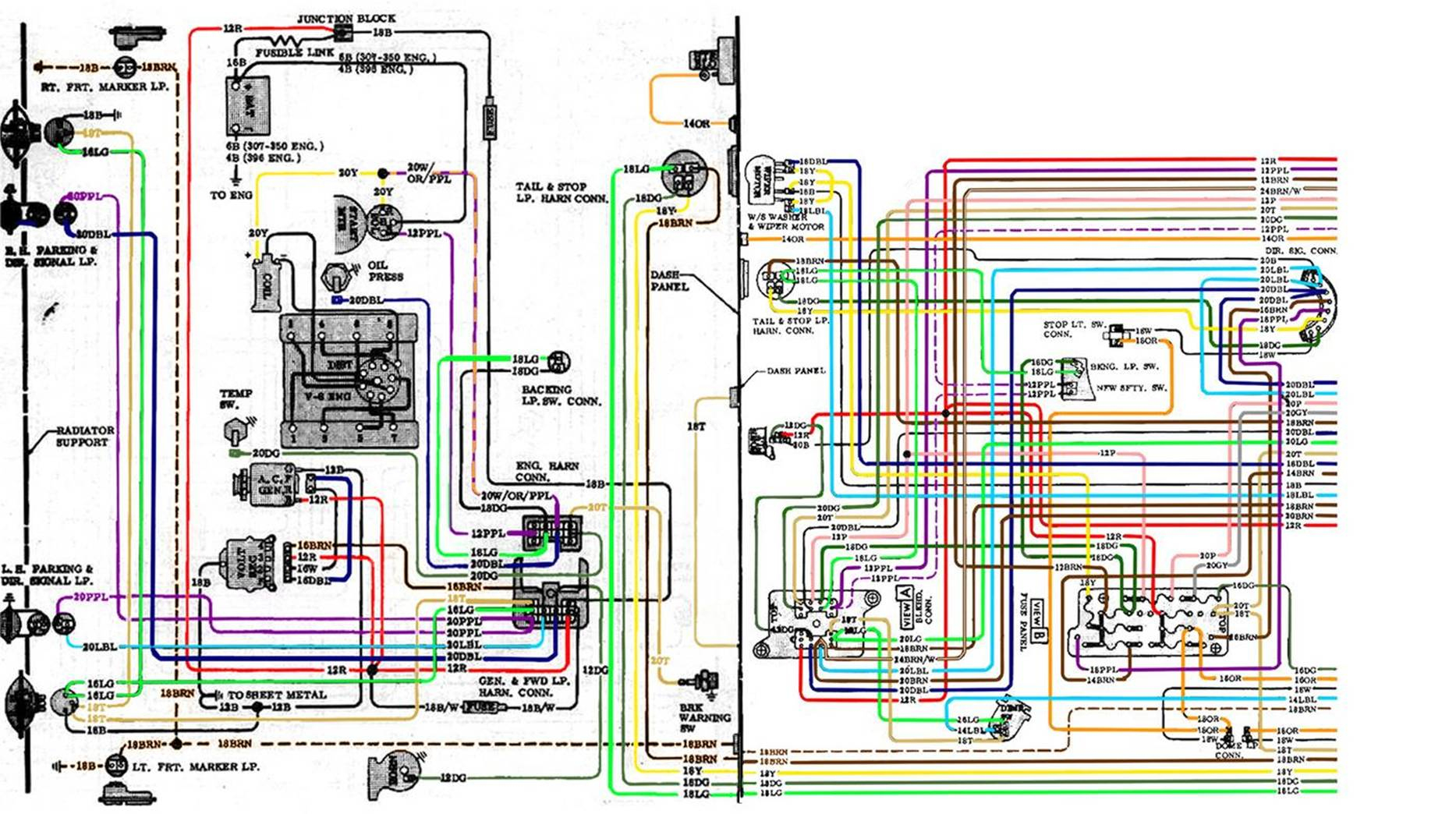1966 Chevy Ii Wiring Diagram | Wiring Library - Painless Wiring Diagram