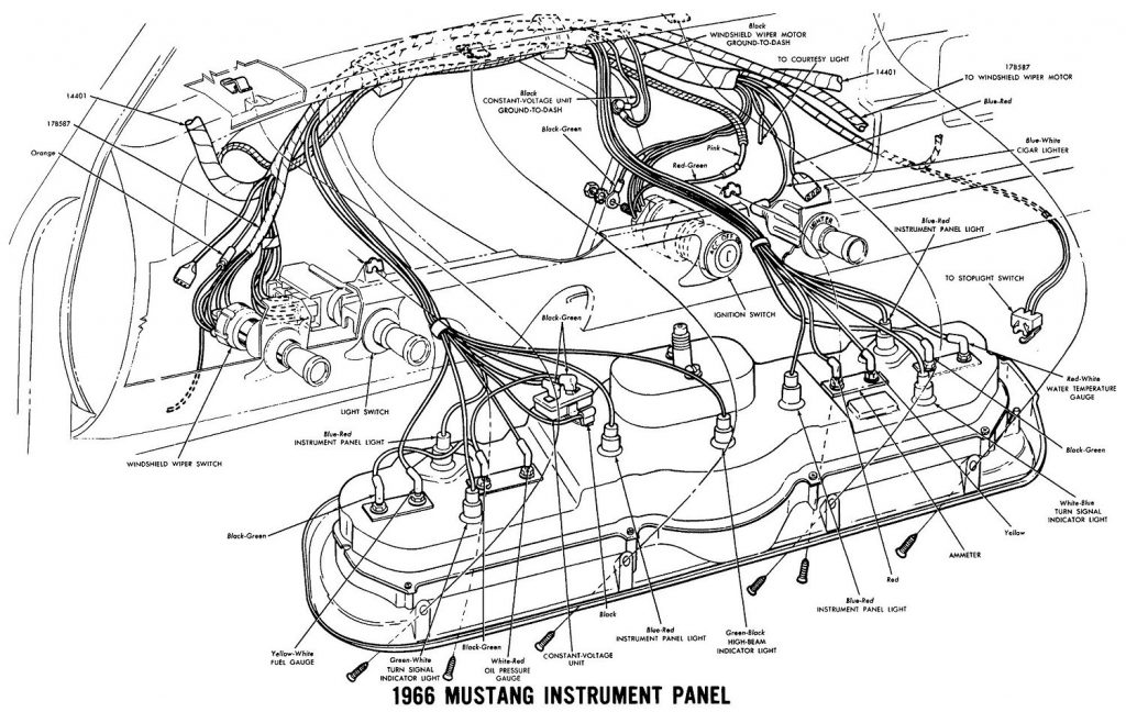 1966 Mustang Headlight Switch Wiring Diagram from 2020cadillac.com