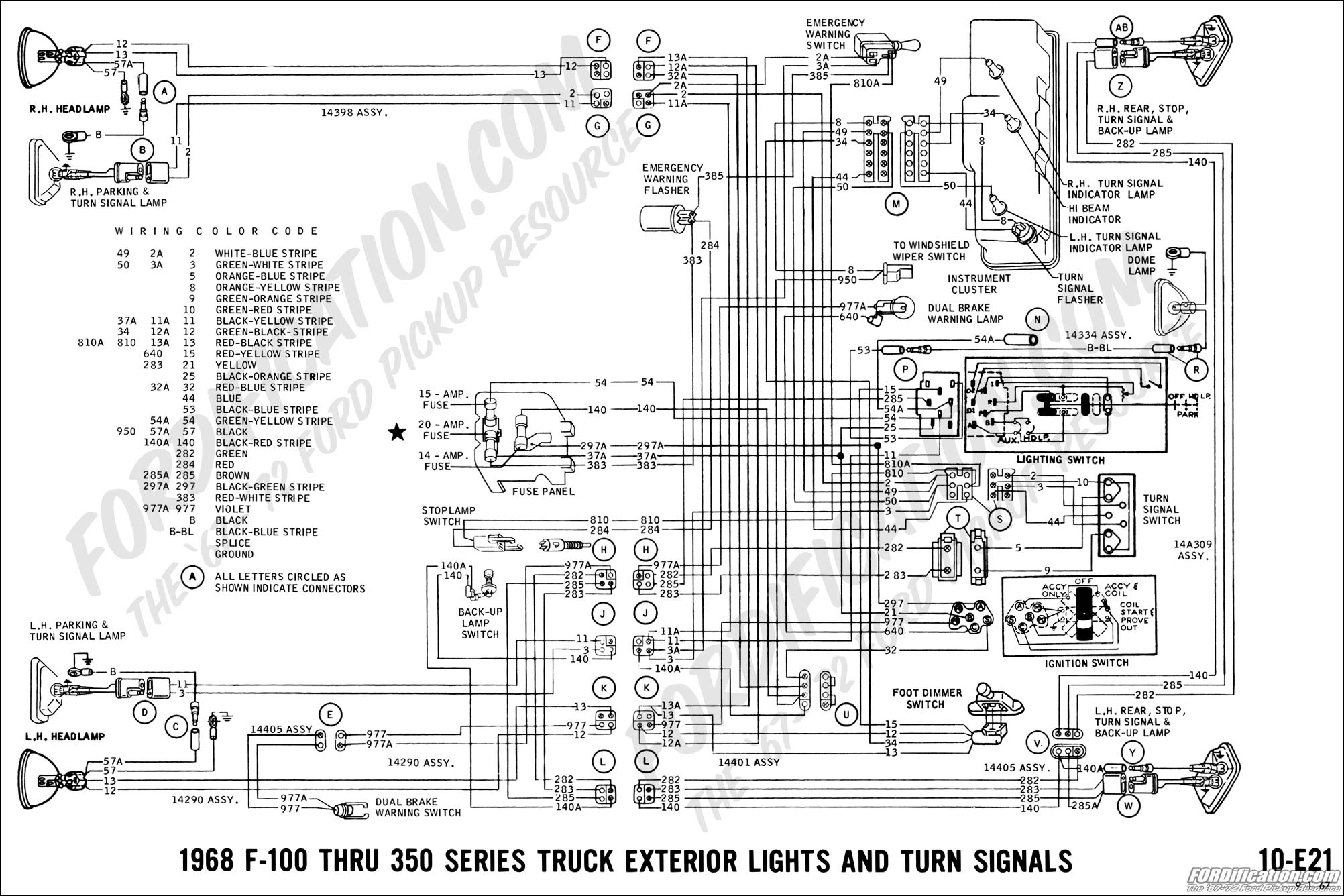 1968 Turn Signal/brake Issue - Ford Truck Enthusiasts Forums - Brake Light Turn Signal Wiring Diagram