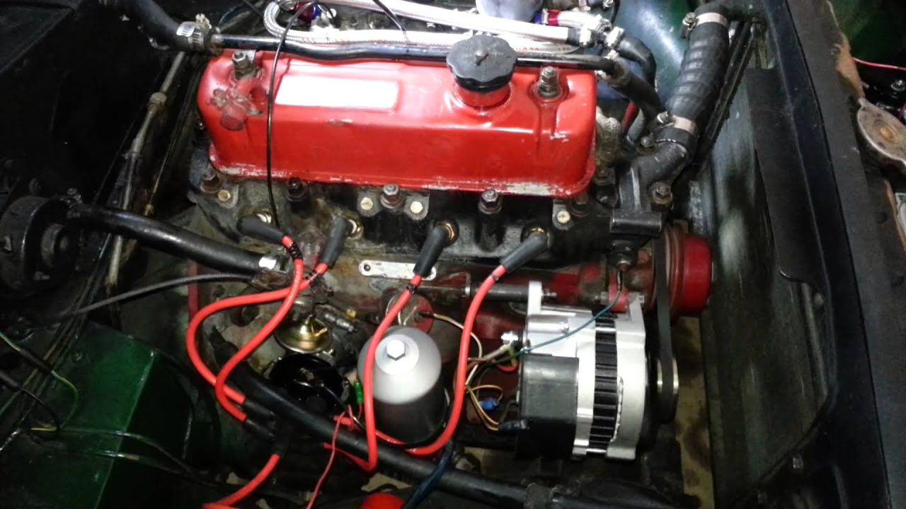 1970 Mgb Not Turning Over, New Distributor Install - Youtube - Mgb Wiring Diagram