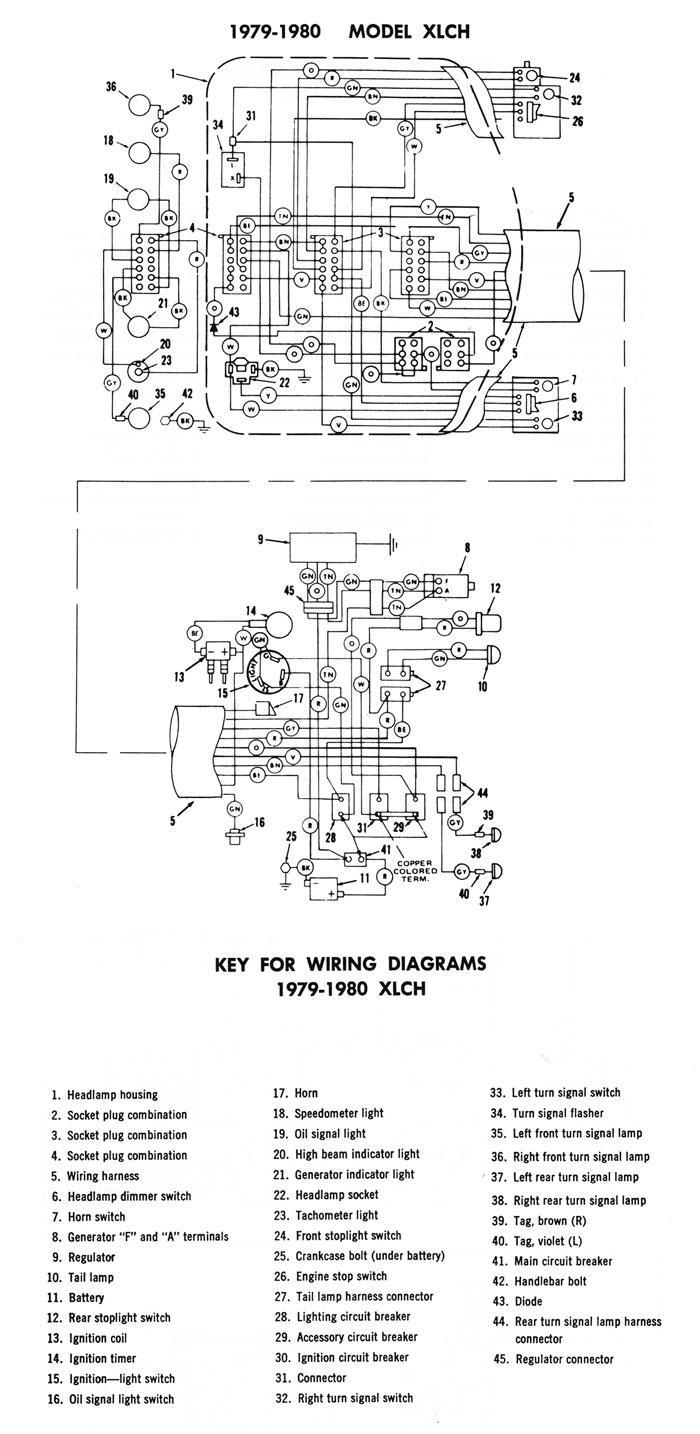 Shovelhead Chopper Wiring Diagram