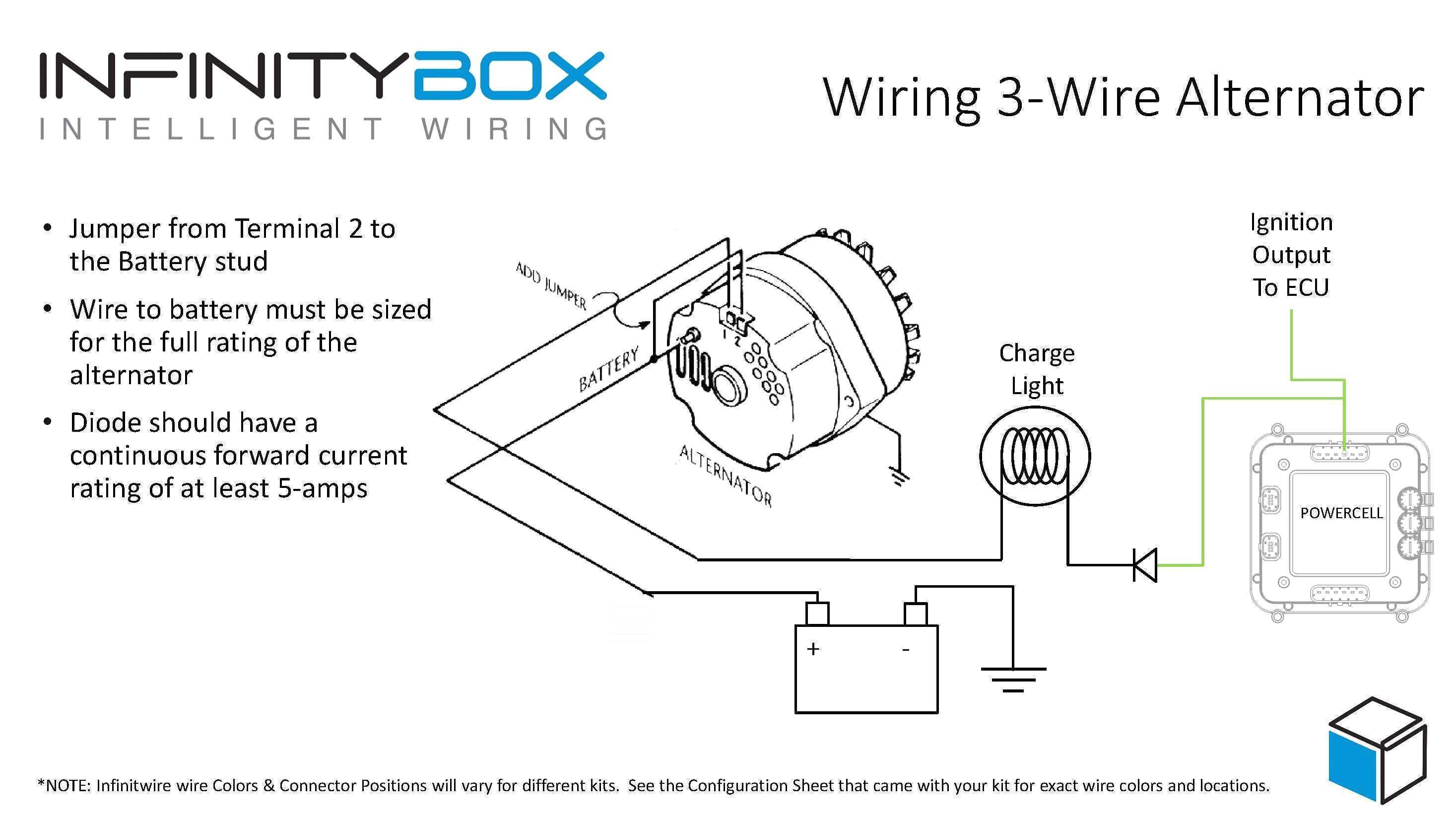 4 Wire Alternator Wiring Diagram | Wiring Diagram