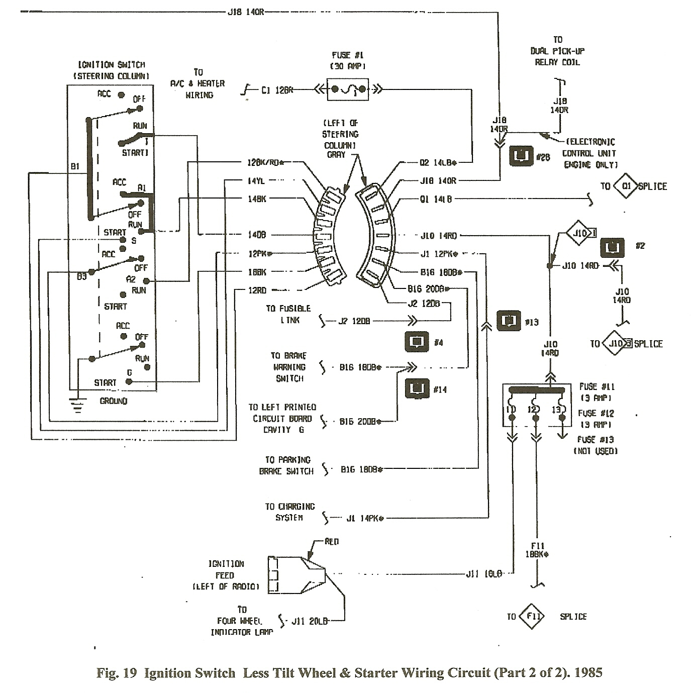 1987 Dodge Ram 150 Wiring Diagram | Manual E-Books - Dodge Ram Wiring Harness Diagram