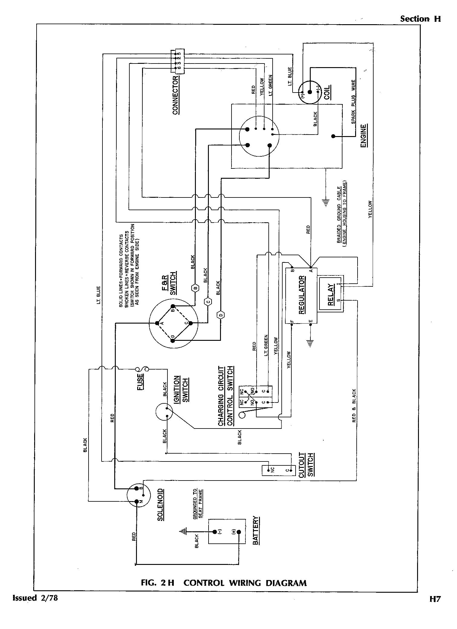 1988 Ezgo Gas Wiring Diagram - Worksheet And Wiring Diagram • - Ez Go Electric Golf Cart Wiring Diagram