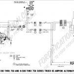 1988 Ford Alternator Wiring Diagram   All Wiring Diagram Data   One Wire Alternator Wiring Diagram Ford