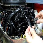 1988 Johnson 30Hp Outboard   Compression And Spark Test   Youtube   Evinrude Power Pack Wiring Diagram