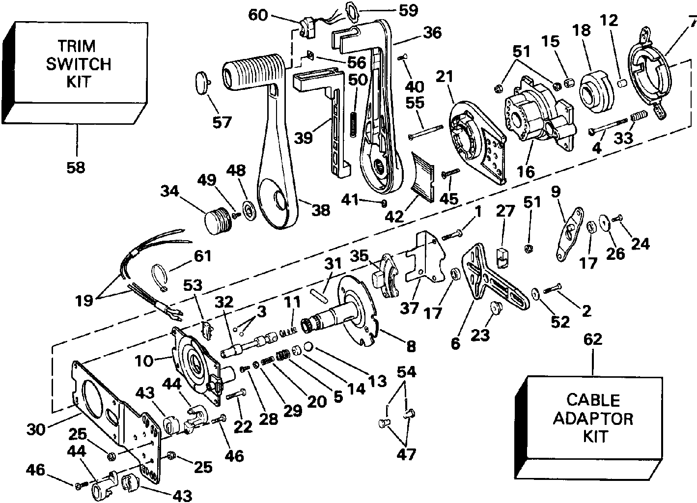 1988 Johnson 9 Hp Outboard Parts Diagram Wiring | Wiring Library - Evinrude Wiring Harness Diagram