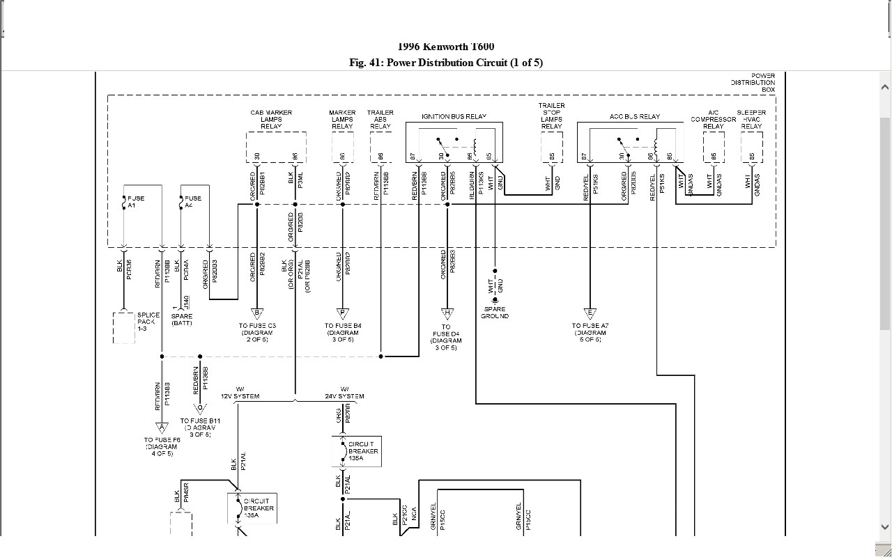 Kenworth Wiring Diagram Pdf