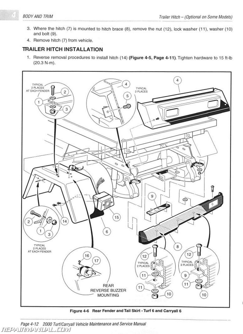 1991 Electric Club Car Wiring Diagram Schematic - Wiring Diagrams Hubs - Club Car Precedent Wiring Diagram