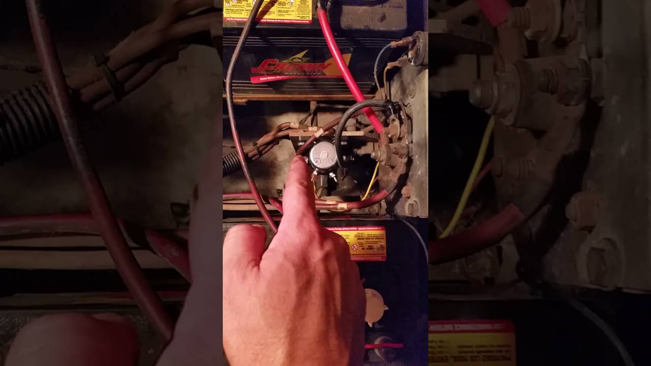 1992 Ezgo Solenoid Wiring For Dummies - Youtube - Golf Cart Solenoid Wiring Diagram