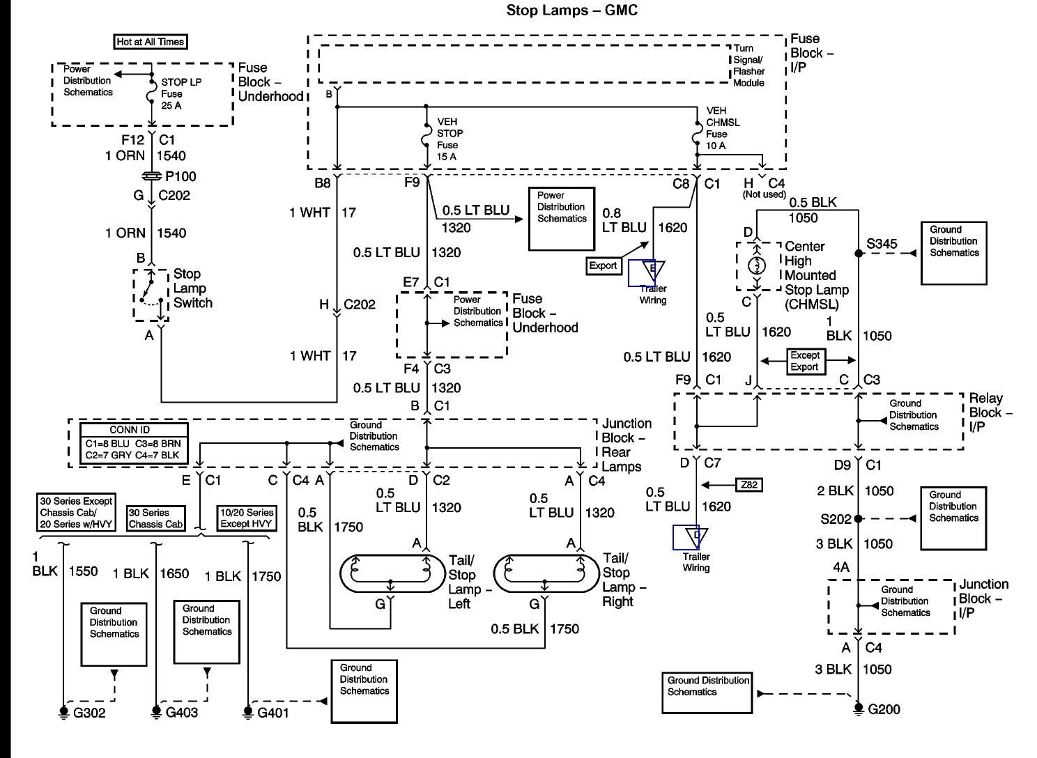 1994 Chevy Truck Brake Light Wiring Diagram | Schematic Diagram - Chevy Silverado Wiring Diagram