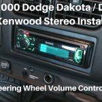 1997   2000 Dodge Dakota/durango Stereo Install W/ Volume Controls   Kenwood Radio Wiring Diagram