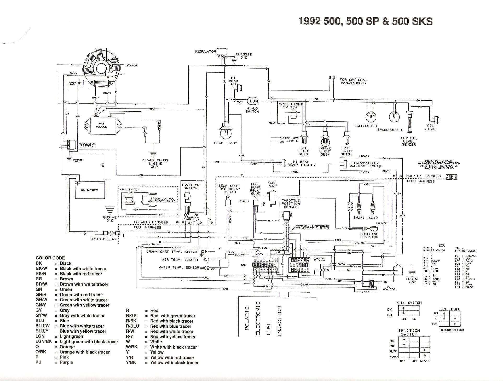 1997 Sportsman Wiring Diagram | Wiring Library - Polaris Ranger Wiring Diagram