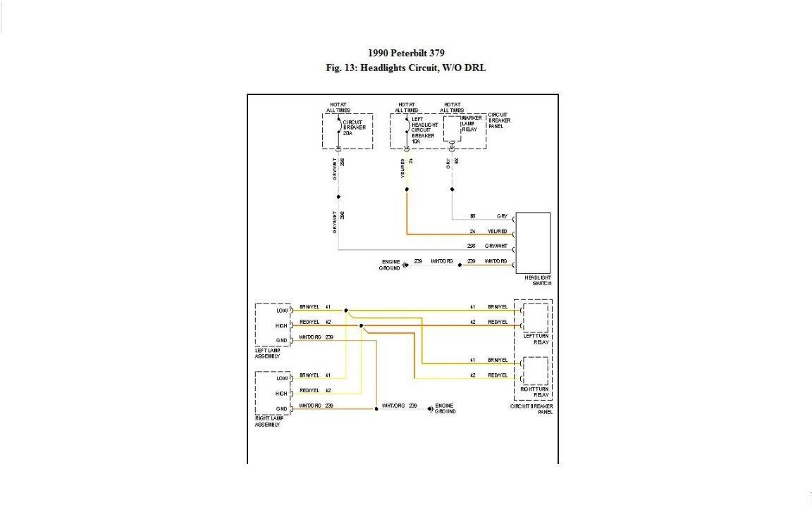 1999 Peterbilt Wiring Diagram | Wiring Library - Peterbilt 379 Wiring Diagram