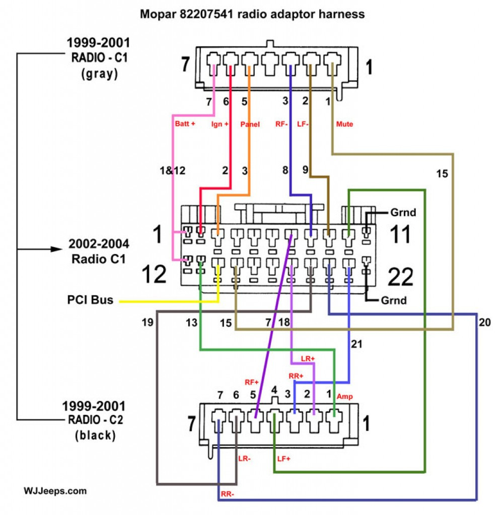 2 Din Car Stereo Wiring Diagram | Manual E-Books - 7010B Stereo Wiring Diagram