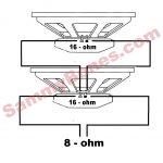 2 Speaker 8 Ohm Wiring Diagram Wire   Wiring Diagrams   Speaker Wiring Diagram