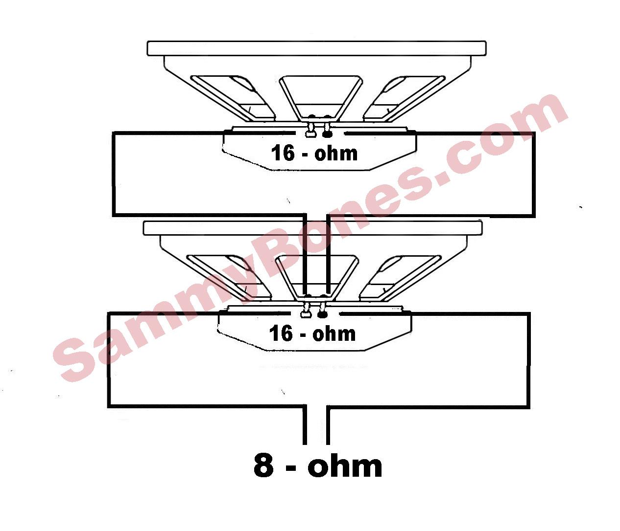 2 Speaker 8 Ohm Wiring Diagram Wire - Wiring Diagrams - Speaker Wiring Diagram