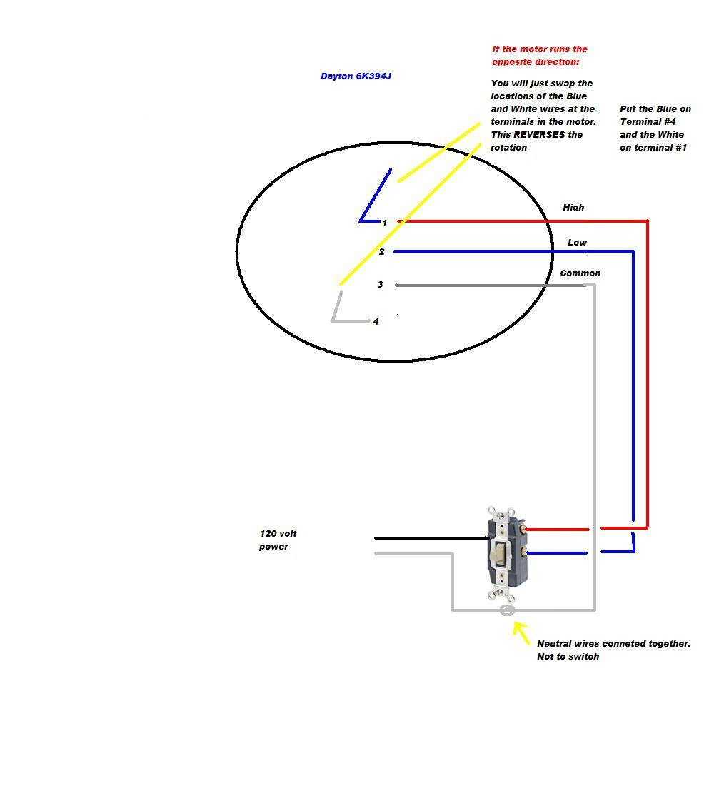2 Speed Whole House Fan Switch Wiring Diagram | Manual E-Books - 2 Speed Whole House Fan Switch Wiring Diagram