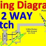 2 Way Light Switch Wiring Diagrams   Youtube   Wiring Diagram Light Switch