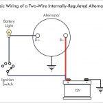 2 Wire Alternator Wiring Diagram 3 And Delco Remy Or 3Wire Diagr   2 Wire Alternator Wiring Diagram