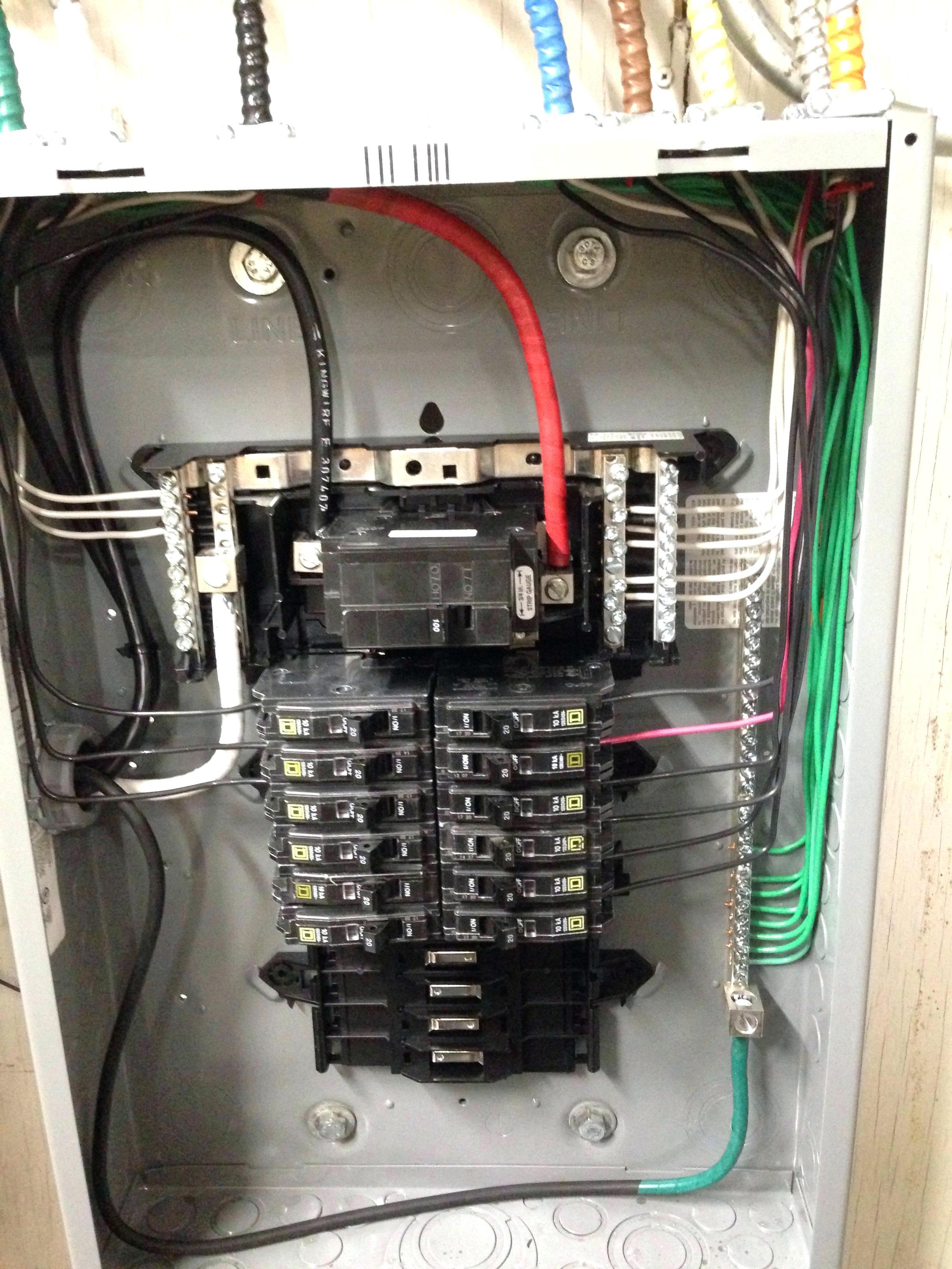 200 Amp Breaker Panel Wiring Diagram | Manual E-Books - 200 Amp Breaker Box Wiring Diagram