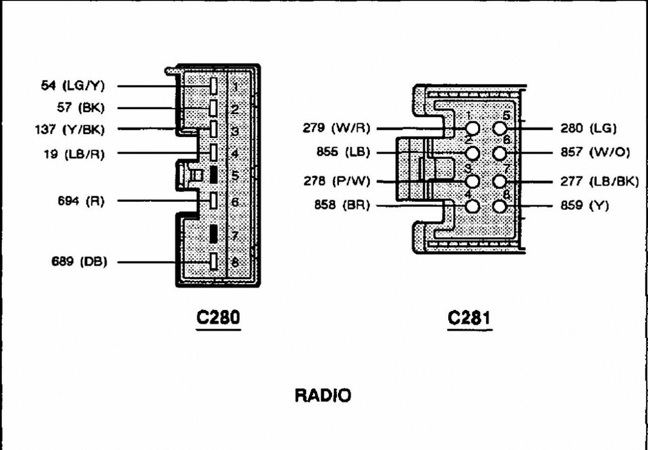 2000 Ford F150 Radio Wiring Harness Diagram Wikiduh Com - Ford F150 Radio Wiring Harness Diagram