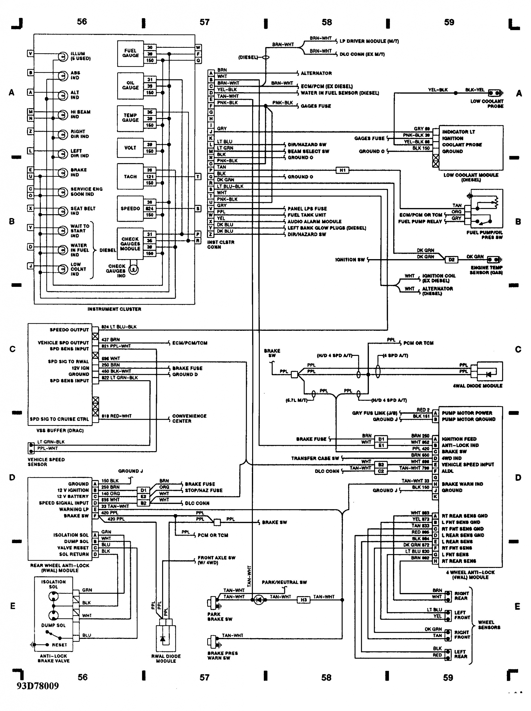 Dodge Ram Wiring Harness Diagram | Wiring Diagram