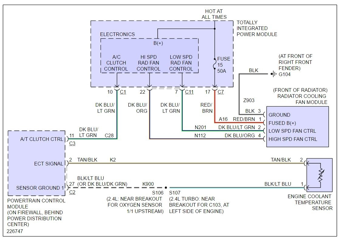 2001 Pt Cruiser Cooling Fan Wiring Diagram   Best Wiring Library - 2006 Pt Cruiser Cooling Fan Wiring Diagram