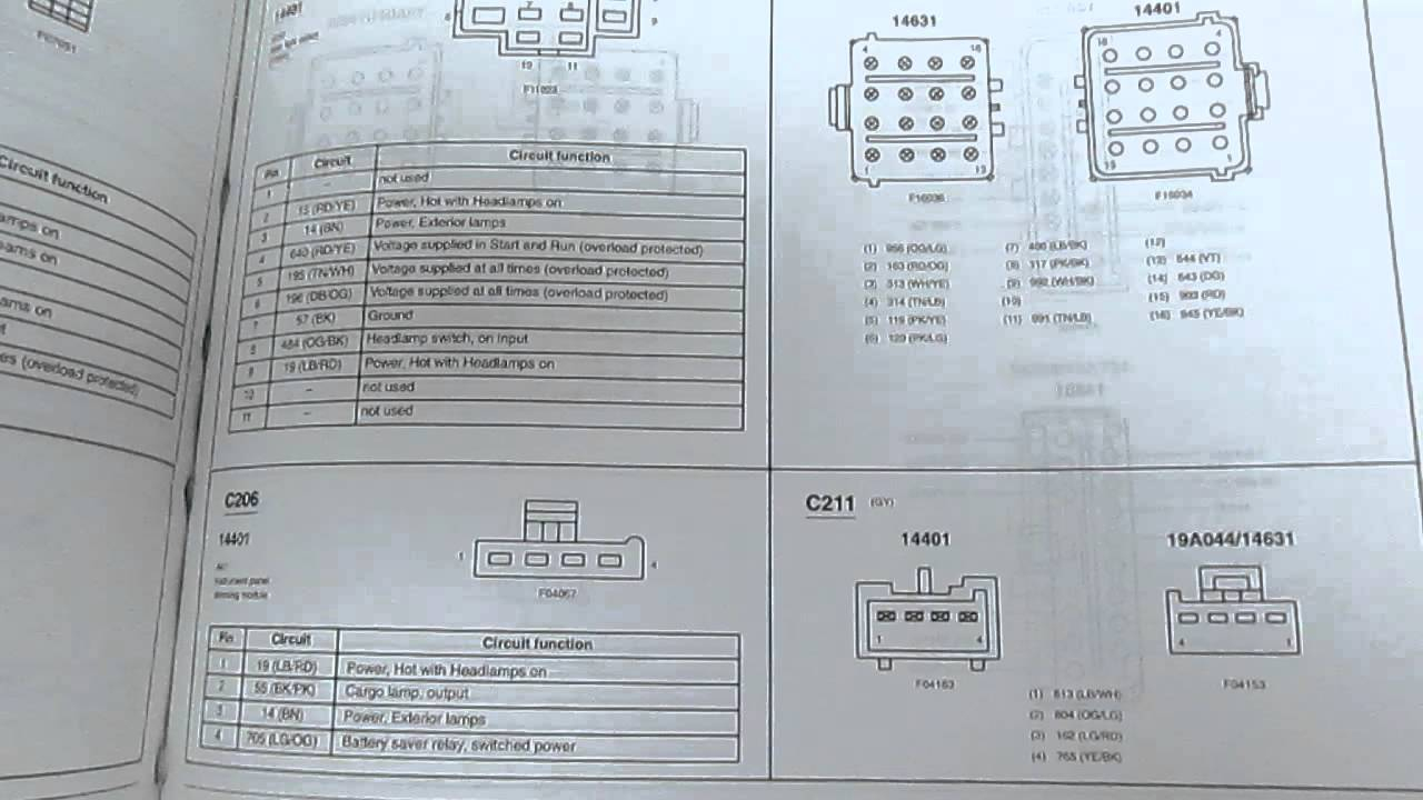2002 Ford Ranger Electrical Wiring Diagrams Manual Factory Oem Book - 2002 Ford Explorer Wiring Diagram