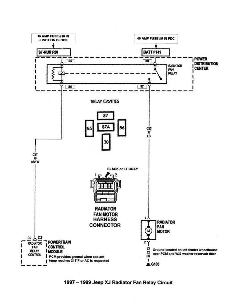 2002 Jeep Grand Cherokee Radiator Fan Wiring Diagram | Wiring Diagram - 2002 Jeep Grand Cherokee Cooling Fan Wiring Diagram